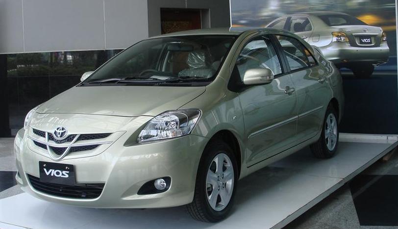 harga mobil bekas toyota vios generasi kedua tahun 2007 sampai 2013