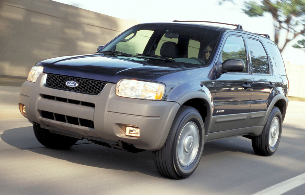 ford escape 2002-2005 black front