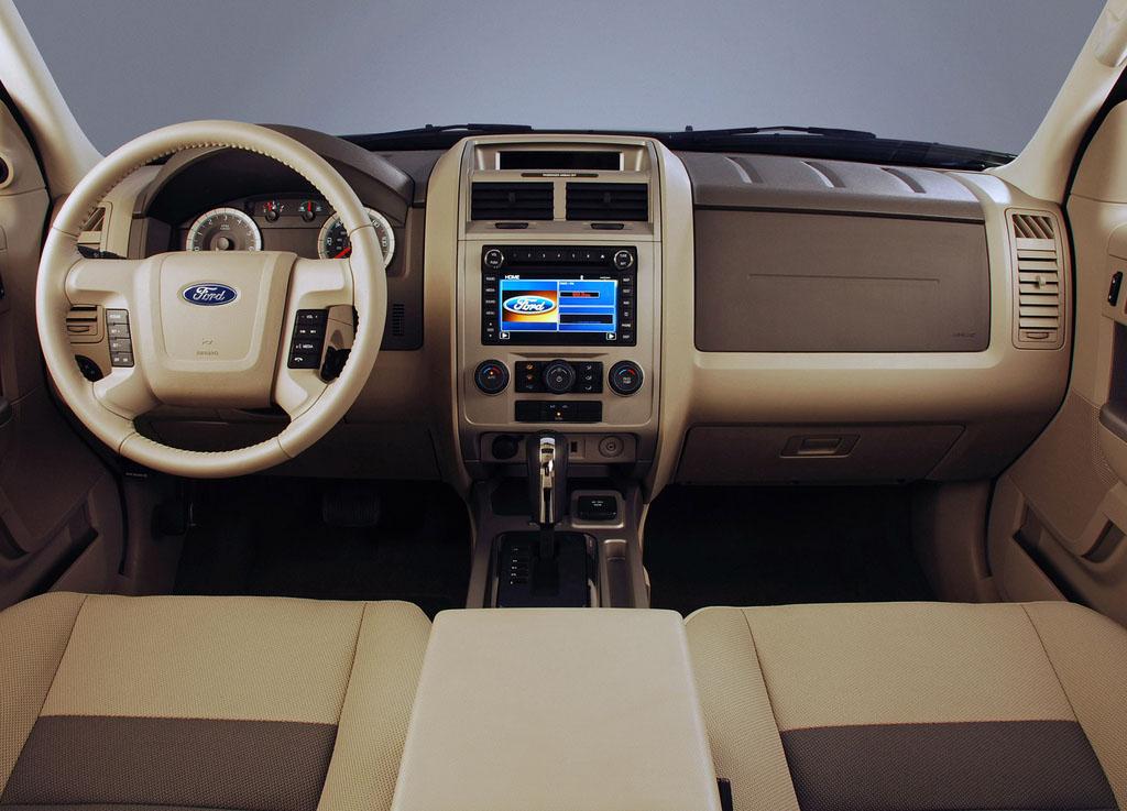 ford escape generasi kedua tahun 2006-2008 interior dashboard