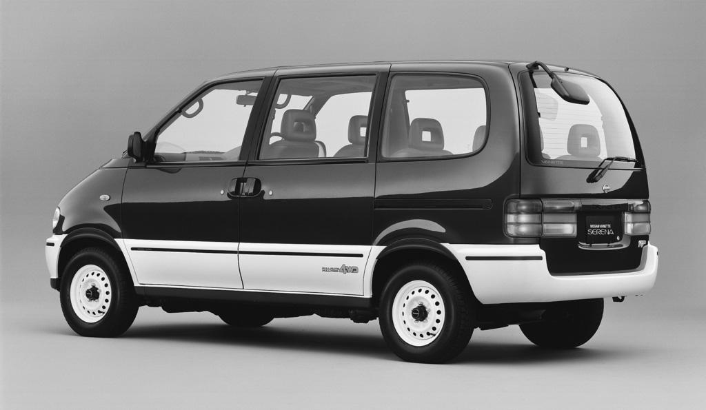 nissan serena generasi pertama c23 tahun 1996