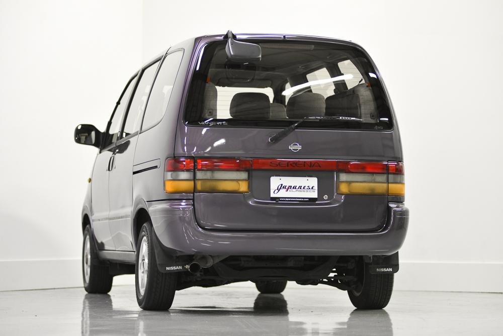 harga mobil bekas nissan serena c23 generasi pertama tahun 1996