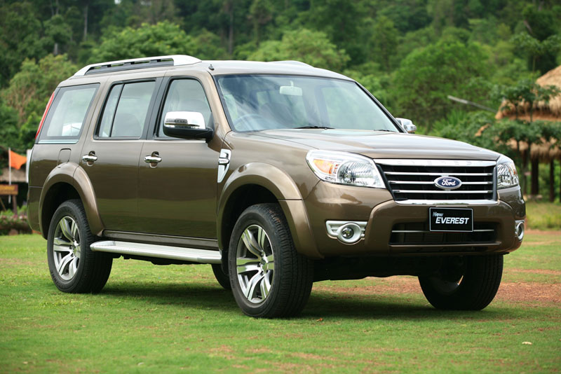 ford everest gen 2 facelift 2009-2012