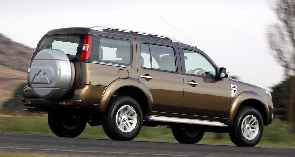 ford everest gen 2 facelift 2009-2012