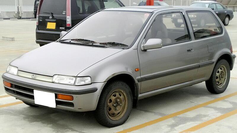 honda city generasi kedua tahun 1986-1994