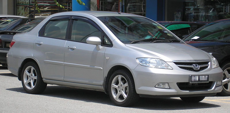 honda city generasi keempat gd8 facelift 2005