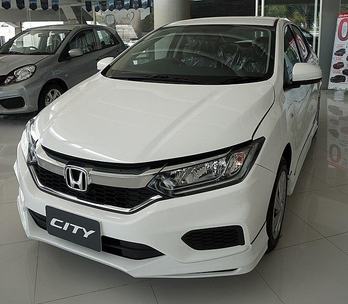 honda city generasi keenam tahun 2017 facelift