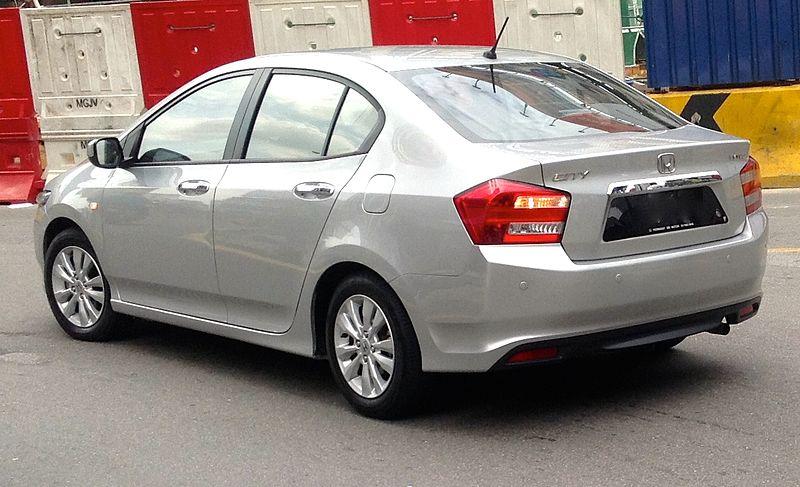 honda city generasi kelima facelift 2011
