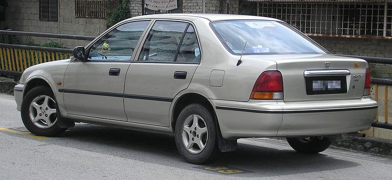 honda city generasi ketiga tahun 1996-1999