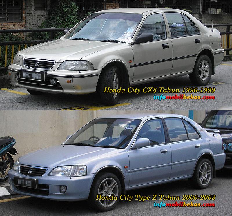 Perbandingan Eksterior Depan Honda City Type Z dan Honda City SX8