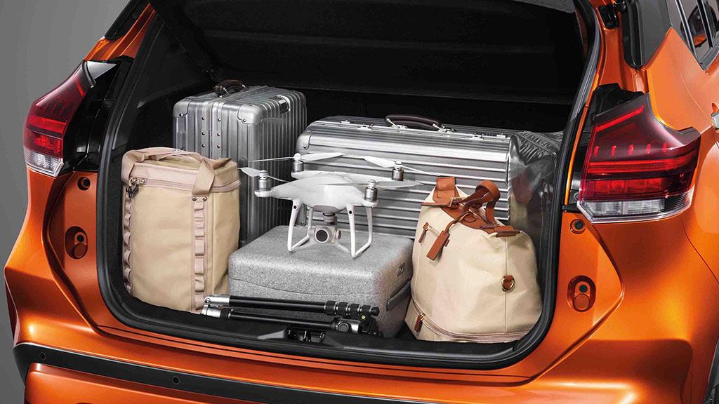 All New Nissan Kicks e-power bagasi 2020