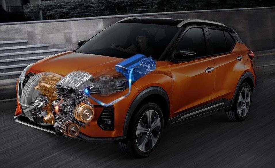 All New Nissan Kicks e-power mesin 2020