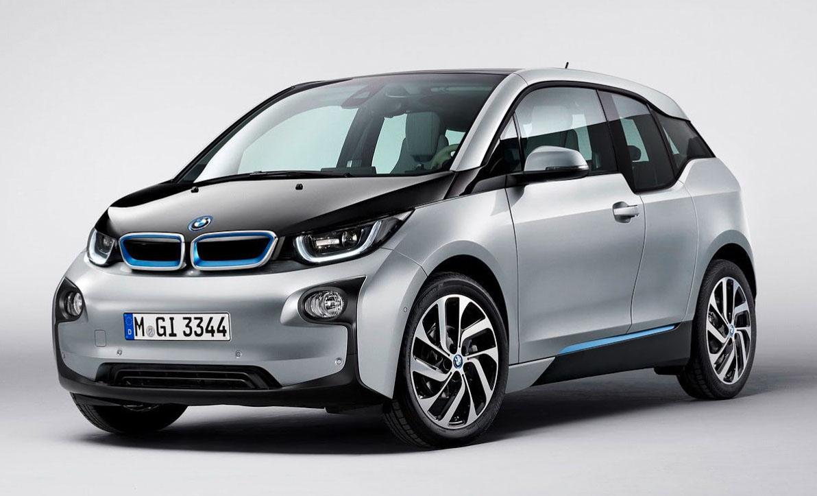 mobil listrik BMW-i3-grey-front