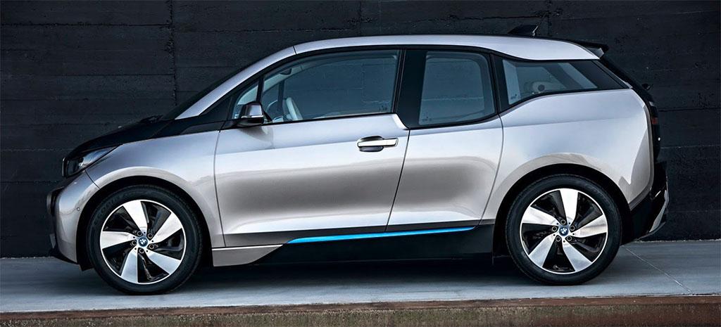 review mobil listrik BMW i3s tahun 2019 eksterior
