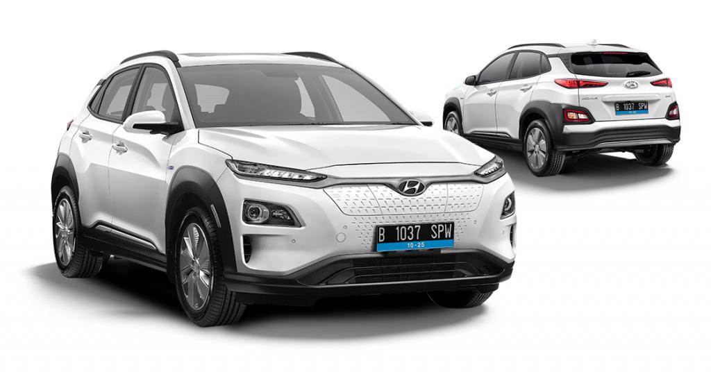 Hyundai Kona-electric front 2020