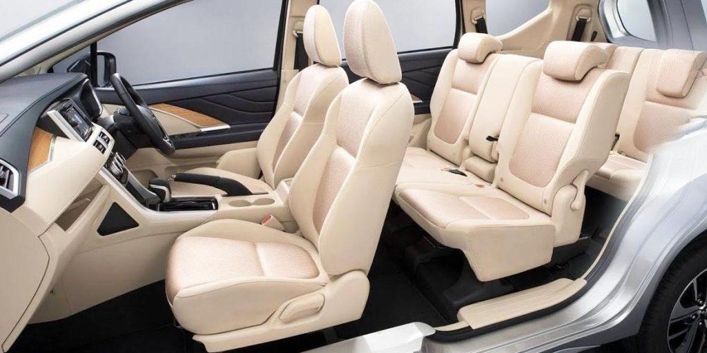 mitsubishi xpander 2017 interior cabin