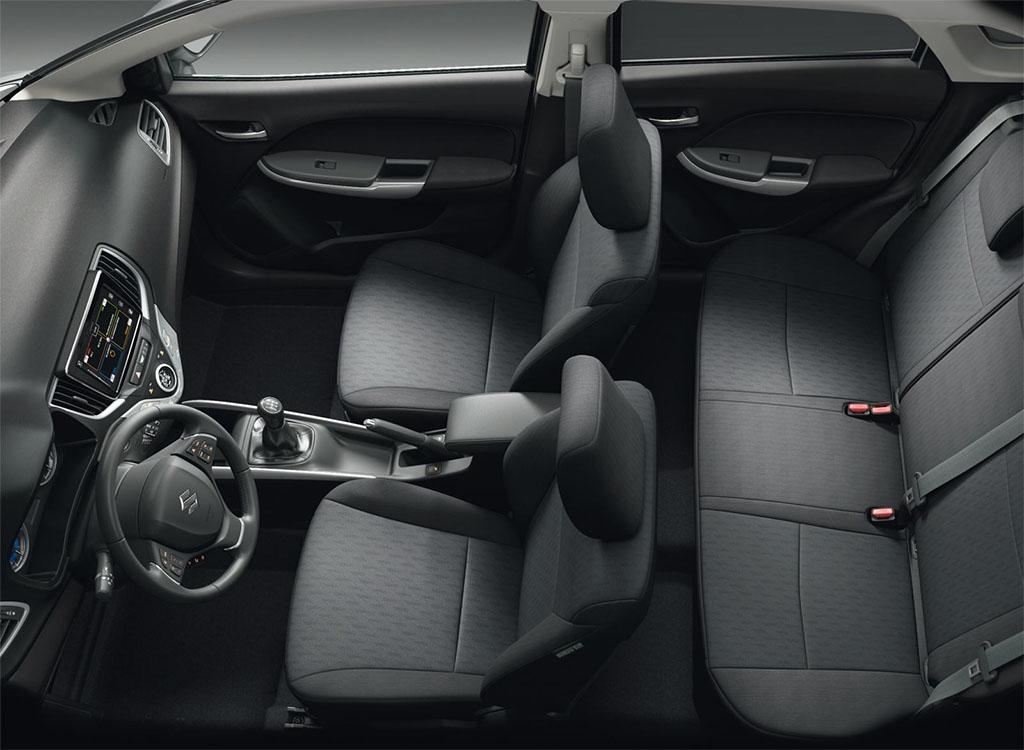interior-Suzuki Baleno Gen 4 Tahun 2017-2018