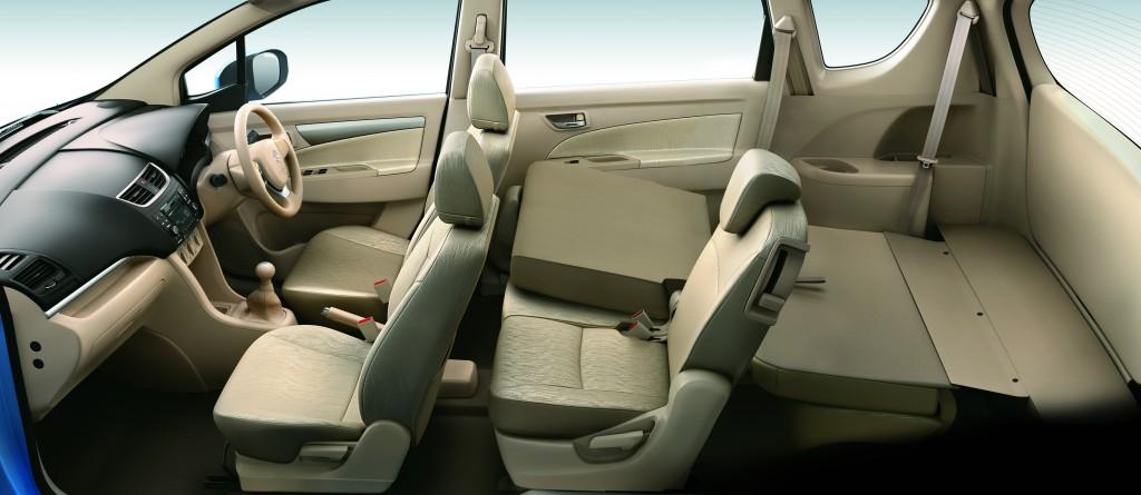 interior kabin Suzuki Ertiga generasi pertama
