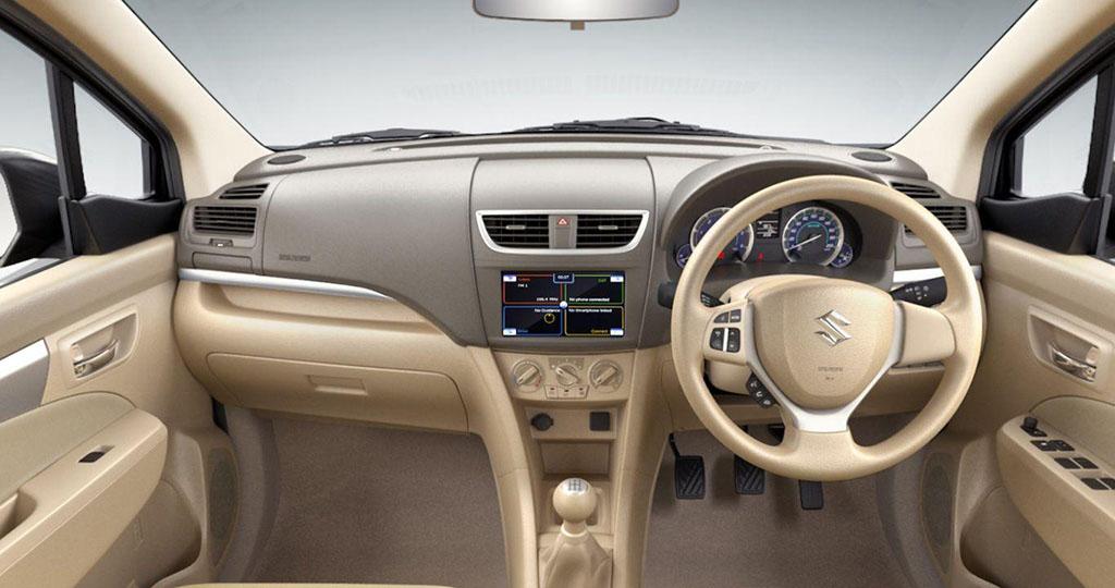 dashboard Suzuki Ertiga generasi satu