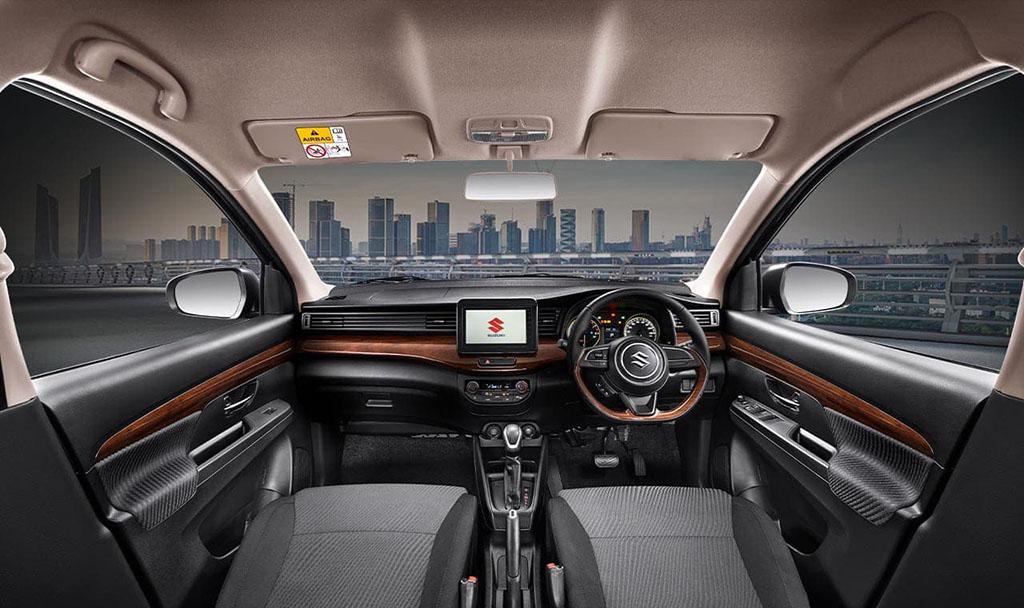 Suzuki Ertiga Sport 2019 interior dashboard
