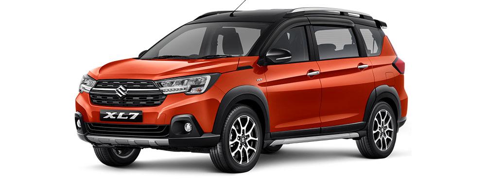 suzuki xl7 orange front 2020