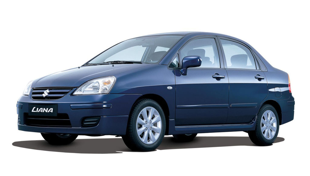 suzuki baleno next-g facelift 2005 warna biru depan